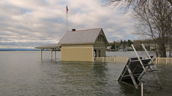 Rosslyn boathouse and dock section
