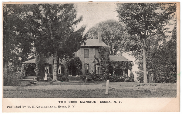 The Ross Mansion, Essex, NY